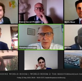 Il Mediterraneo e la leadership giovanile